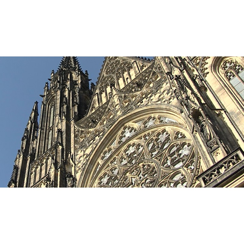 CR - Prague - Prague castle - St. Vitus Cathedral