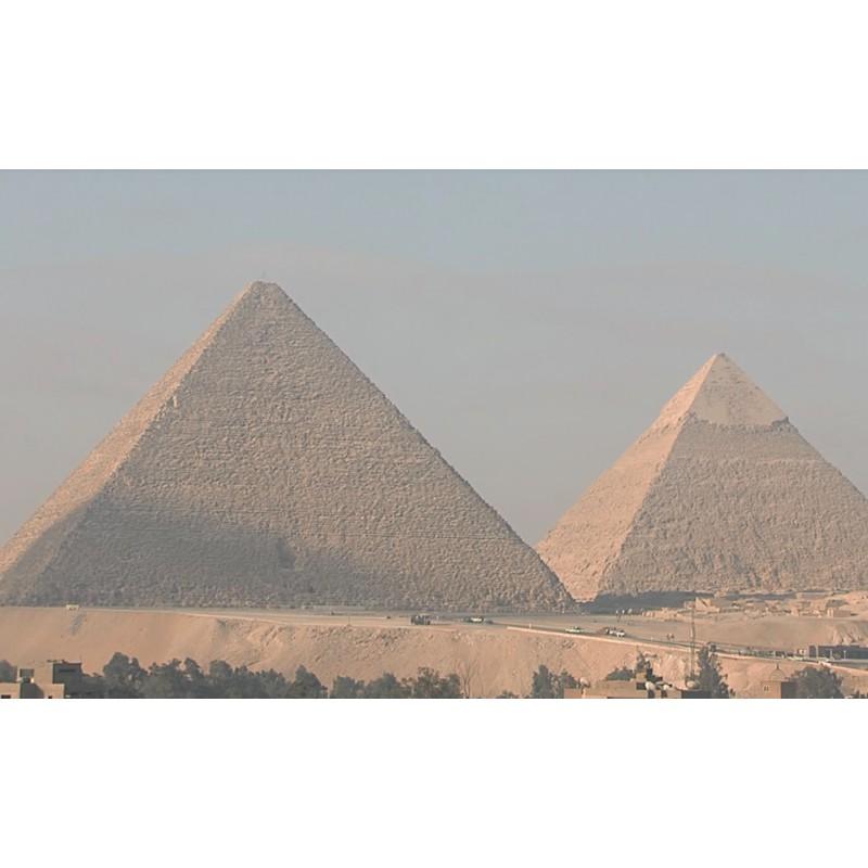 Egypt - Pyramids - Giza - 4000x faster