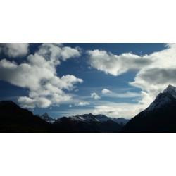 Asie - Himaláje - mraky - časosběr - 10000x zrychleno