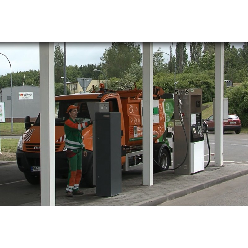 CR - transport - CNG - dumpster car