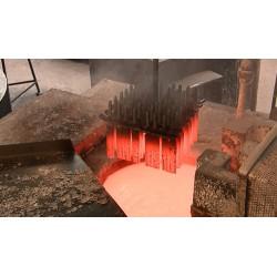 ČR - průmysl - železárny - tavení oceli - obrábění