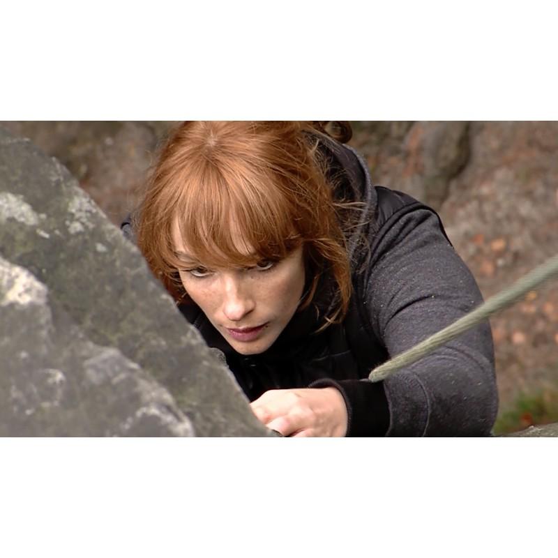 CR - sport - film - mountain climbing - Prachovské skály - Prachovské rocks - Vica Kerekes - filming - Then in paradise