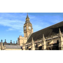 Velká Británie - Londýn - Westminster - London Eye - Big Ben