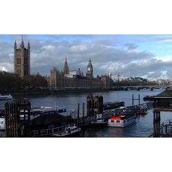 Velká Británie - Londýn - Westminster - časosběr - originální délka