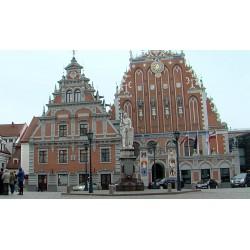 Lotyšsko - Riga - parlament - knihovna - centrum města