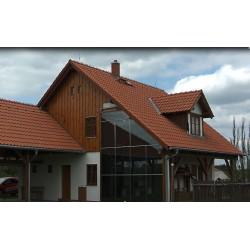 ČR - technologie - solární ohřev domu