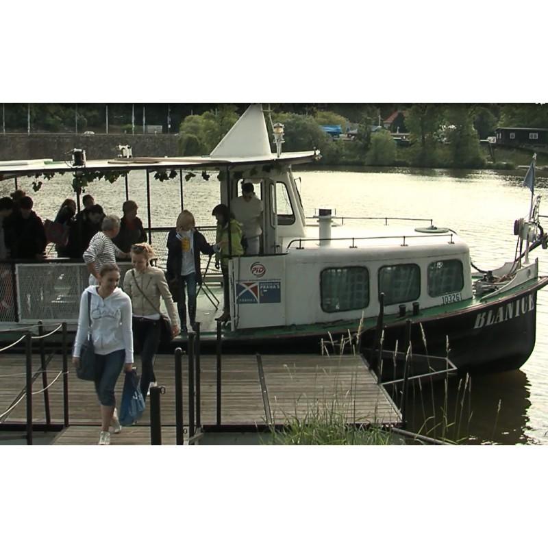 CR - transport - ship - Vltava river - ferryboat