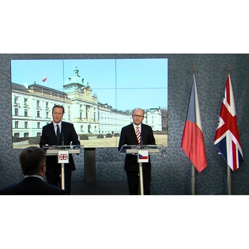 cr - Great Britain - Prague - David Cameron - Bohuslav Sobotka - premier - Government office