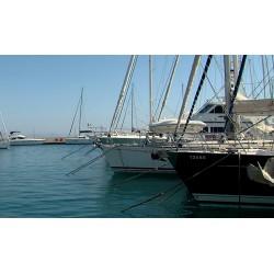 Řecko - Kos - moře - lodě - přístav - jachty