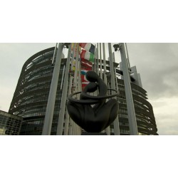 Francie - Štrasburk - Evropský parlament - 2016 - exteriéry - interiéry